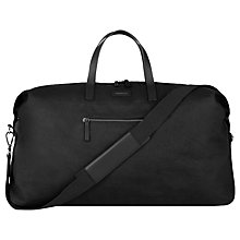 Buy Sandqvist Damain Weekend Holdall, Black Online at johnlewis.com