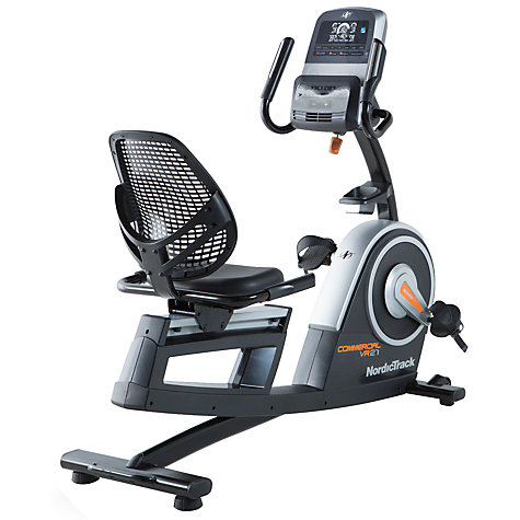 Buy Nordictrack Commercial Vr21 Recumbent Exercise Bike
