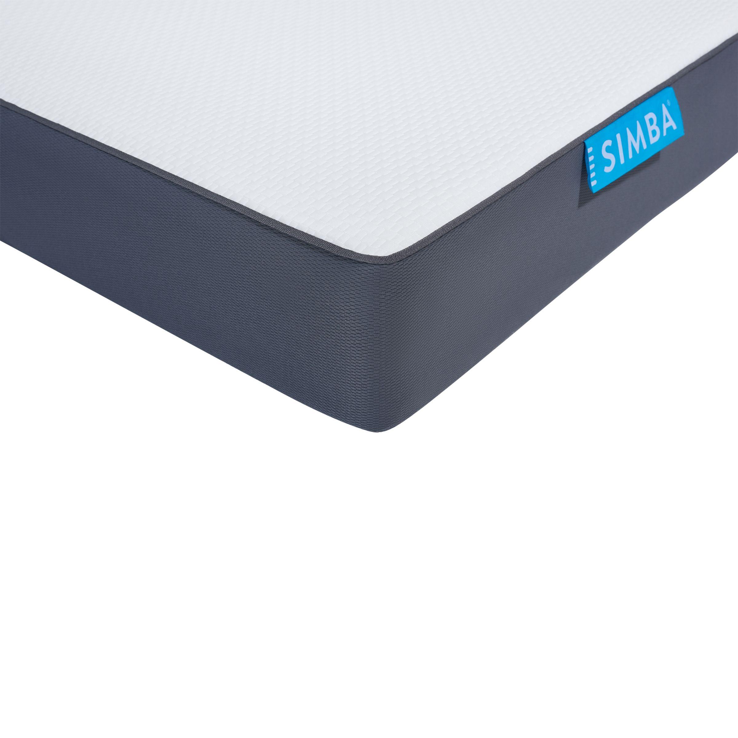Simba SIMBA Hybrid® Bunk Bed Pocket Spring Mattress, Medium Tension, Single