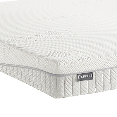 Dunlopillo Diamond Latex Mattress, Medium Tension, Single