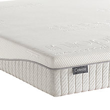 Buy Dunlopillo Celeste Latex Mattress, Firm Tension, Single Online at johnlewis.com