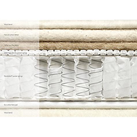John Lewis Natural Collection Hemp 4000 Comfort Support Double Medium Tension Pocket Spring Mattress