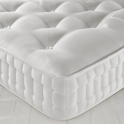 Image of John Lewis Natural Collection Egyptian Cotton 7000 Luxury Support, Pocket Spring Mattress, Medium Tension, Single