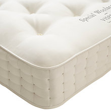 Buy Vispring Special Woolacombe Mattress, Medium, Double Online at johnlewis.com