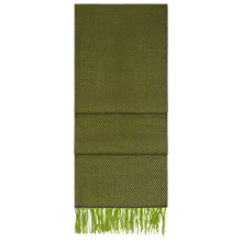 Buy Hobbs Rectangle Agnes Scarf, Green Online at johnlewis.com