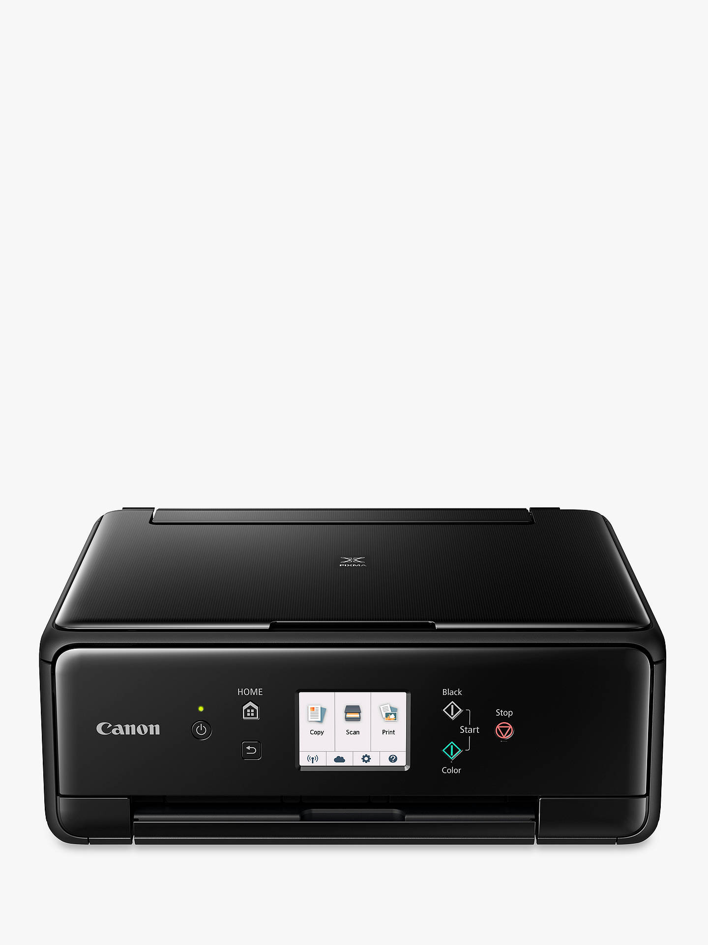 Buy Canon PIXMA TS6150 All-in-One Wireless Wi-Fi Printer with Touch Screen, Black Online at johnlewis.com