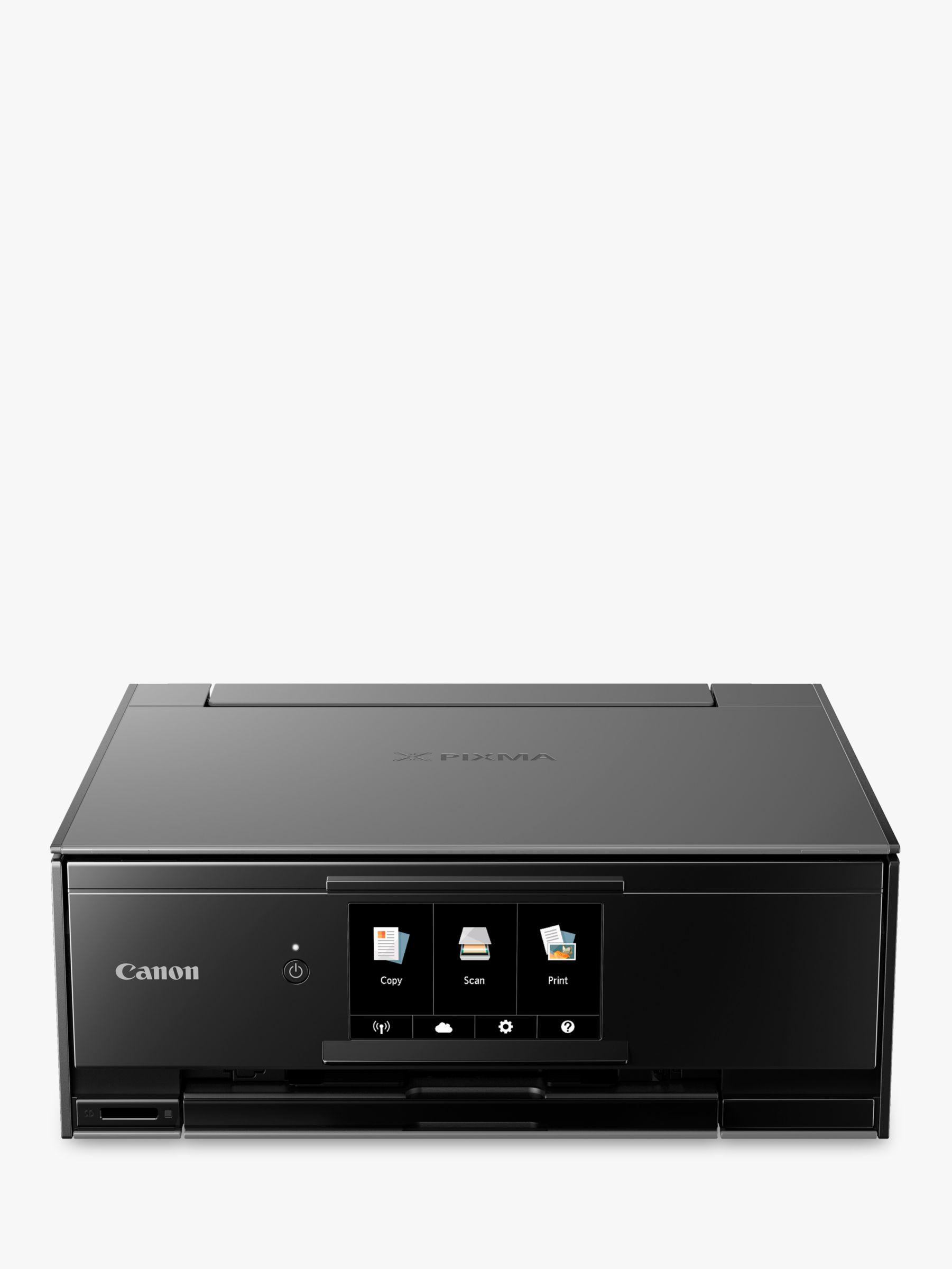 Canon Canon PIXMA TS9150 All-in-One Wireless Wi-Fi Printer with Auto-Tilting Touch Screen, Dark Grey