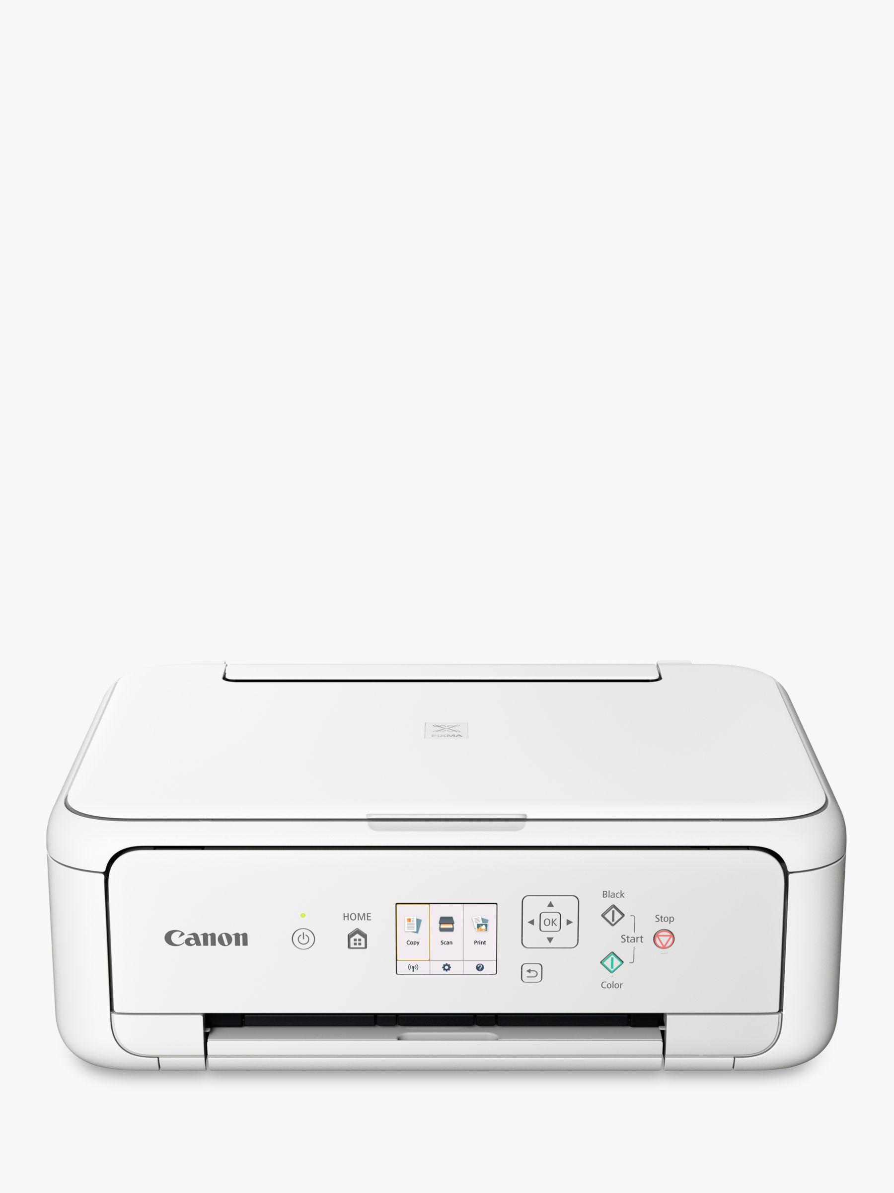 Canon Canon PIXMA TS5151 All-in-One Wireless Wi-Fi Printer, White