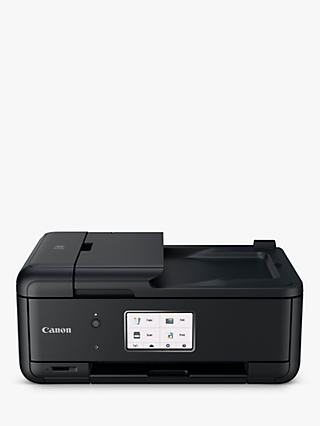 Canon PIXMA TR8550 All-in-One Wireless Wi-Fi Printer with Touch Screen, Black