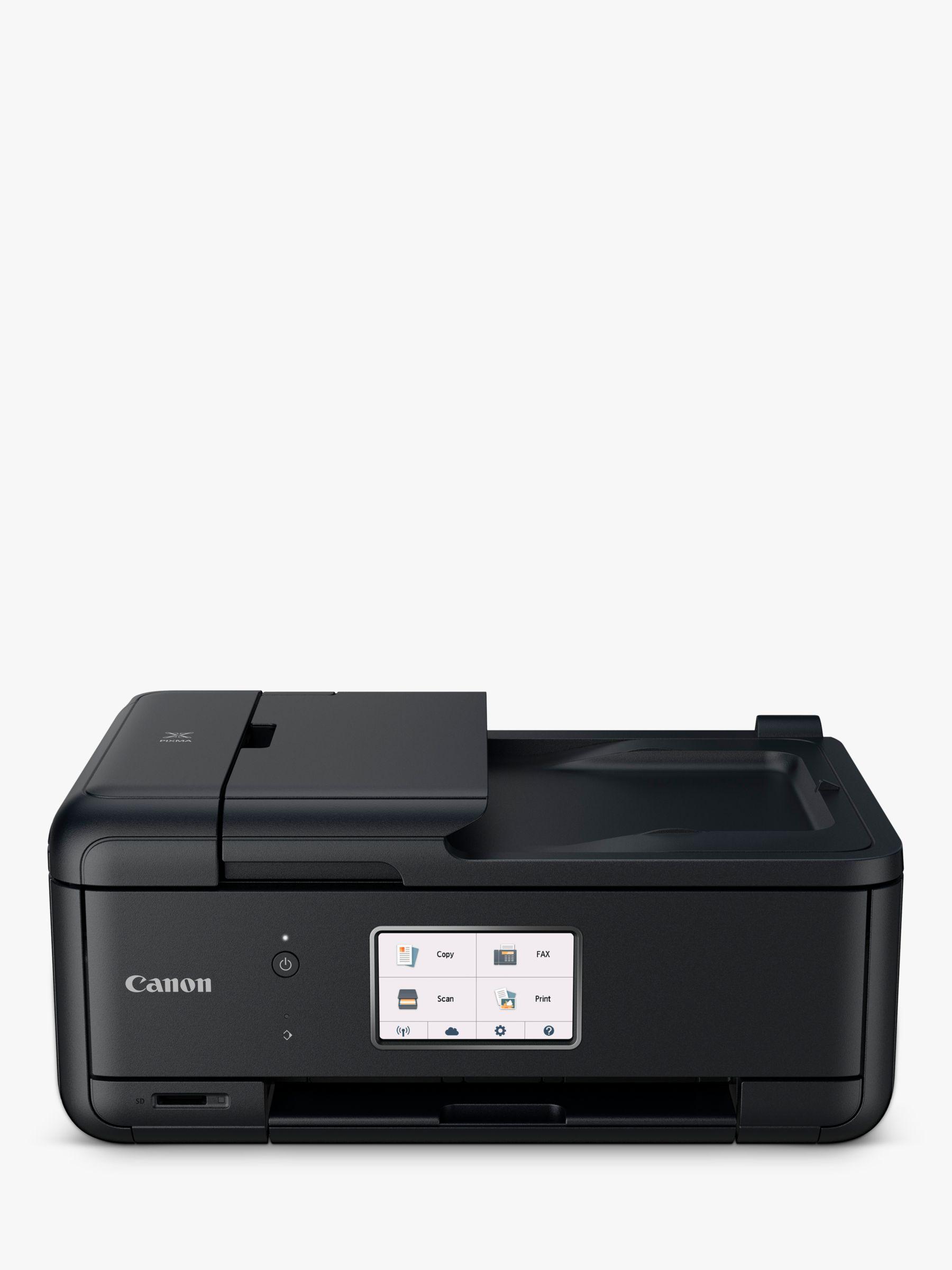 Canon Canon PIXMA TR8550 All-in-One Wireless Wi-Fi Printer with Touch Screen, Black