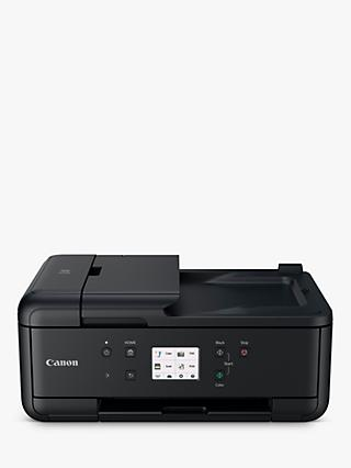 Canon PIXMA TR7550 All-in-One Wireless Wi-Fi Printer with Touch Screen, Black