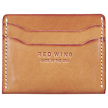 Buy Red Wing Leather Card Holder, Tan Online at johnlewis.com