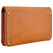 Buy Red Wing Leather Card Holder Wallet, Tan Online at johnlewis.com