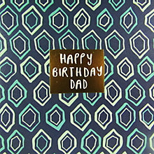 Buy Caroline Gardner Happy Birthday Dad Card Online at johnlewis.com