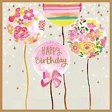 Buy Paper Salad Balloons Birthday Card Online at johnlewis.com