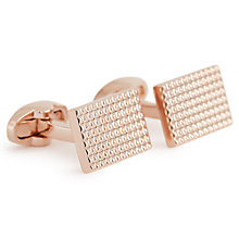 Buy Reiss Julian Pyramid-Detail Cufflinks Online at johnlewis.com