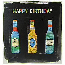 Buy Portico Beers Happy Birthday Card Online at johnlewis.com