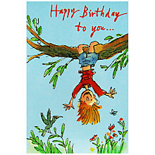 Buy Woodmansterne Happy Birthday Greeting Card Online at johnlewis.com