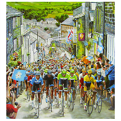 Woodmansterne The Race Is On Birthday Card