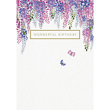 Buy Woodmansterne Beautiful Day Birthday Card Online at johnlewis.com