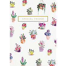 Buy Woodmansterne Potted Delight Special Friend Greeting Card Online at johnlewis.com