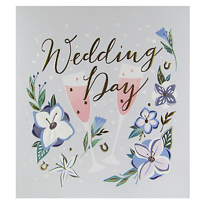 Product photo of Woodmansterne wedding day card