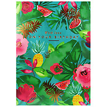 Buy Woodmansterne Tropical Dream Birthday Card Online at johnlewis.com