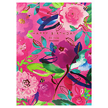 Buy Woodmansterne Floral Birthday Card Online at johnlewis.com