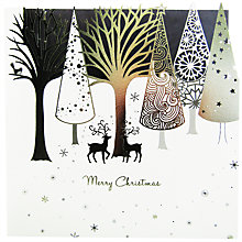 Buy Paperlink Top Trees Christmas Card Online at johnlewis.com