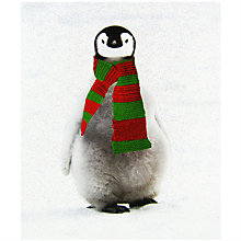 Buy Portfolio Eric Penguin Christmas Card Online at johnlewis.com