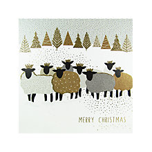 Buy Portfolio Christmas Sheep Card Online at johnlewis.com