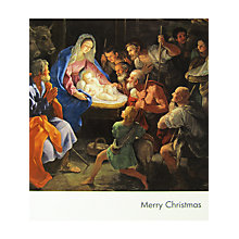 Buy National Gallery Reni's Nativity Christmas Card Online at johnlewis.com