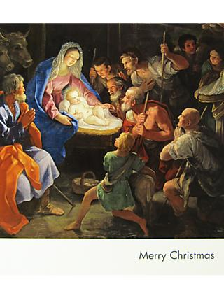 National Gallery Reni S Nativity Christmas Card