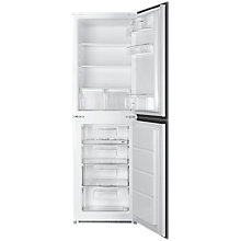 Buy Smeg UKC3170P Integrated Fridge Freezer, A+ Energy Rating, 54cm Wide, White Online at johnlewis.com