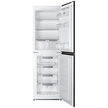 Buy Smeg UKC7172NP Integrated Fridge Freezer, A+ Energy Rating, 54cm Wide, White Online at johnlewis.com