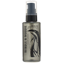 Buy Windle & Moodie Shine & Smoothing Oil, 75ml Online at johnlewis.com