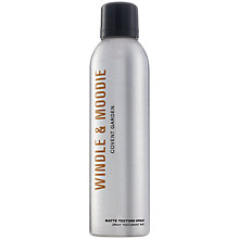 Buy Windle & Moodie Matte Texture Spray, 250ml Online at johnlewis.com