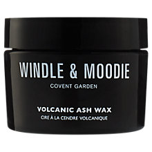 Buy Windle & Moodie Volcanic Ash Hair Wax, 50g Online at johnlewis.com