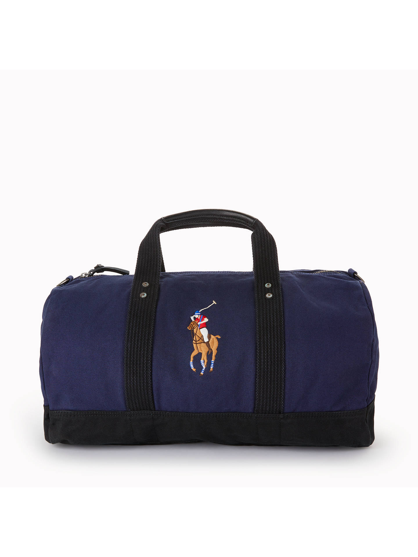 48680b65c066 BuyPolo Ralph Lauren Canvas Big Pony Duffle Bag