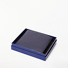Buy Polo Ralph Lauren Leather Wallet, Blue Online at johnlewis.com
