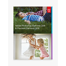 Buy Adobe Photoshop and Premiere Elements 2018, Photo and Video Editing Software Online at johnlewis.com