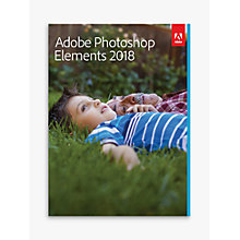 Buy Adobe Photoshop Elements 2018, Photo Editing Software Online at johnlewis.com
