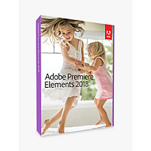 Buy Adobe Premiere Elements 2018, Video Editing Software Online at johnlewis.com