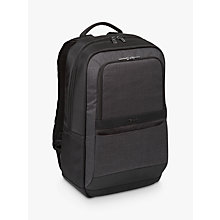 "Buy Targus CitySmart Essential Backpack for Laptops up to 15.6"", Black/Grey Online at johnlewis.com"