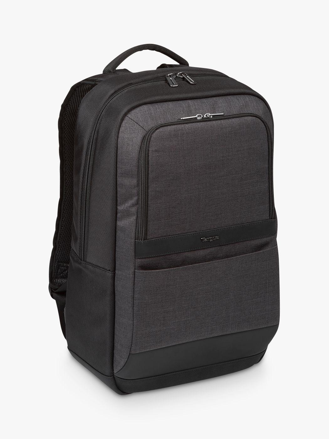 """Targus Targus CitySmart Essential Backpack for Laptops up to 15.6"""", Black/Grey"""
