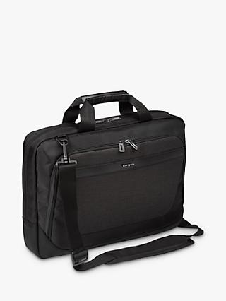 "Targus CitySmart Slimline Topload Case for Laptops up to 15.6"", Black"