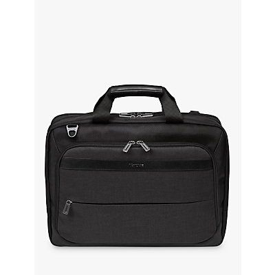 Targus 15.6 High Capacity Topload Laptop Case, Black