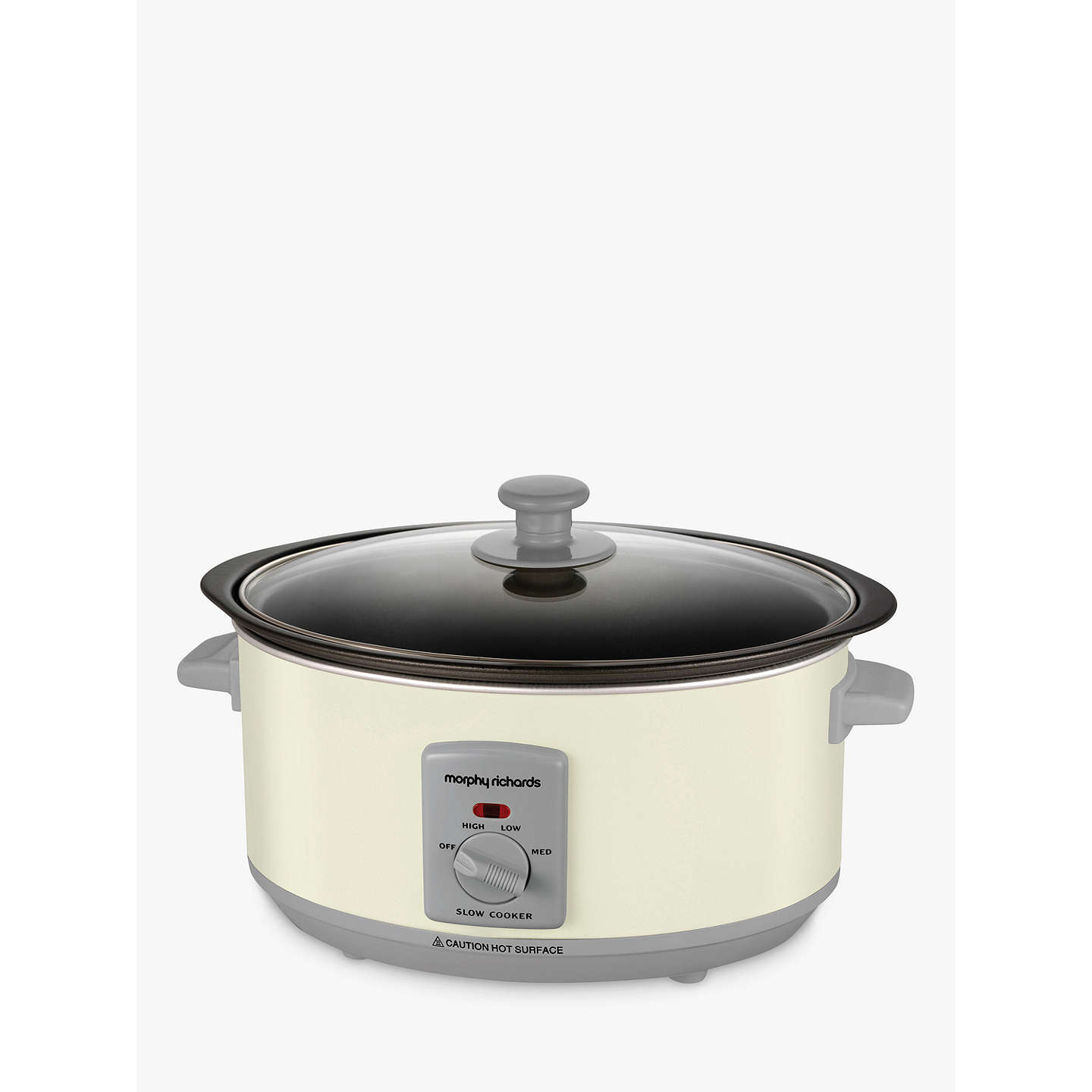 Morphy Richards Bbq: Morphy Richards 3.5L Sear And Stew Slow Cooker, Ivory