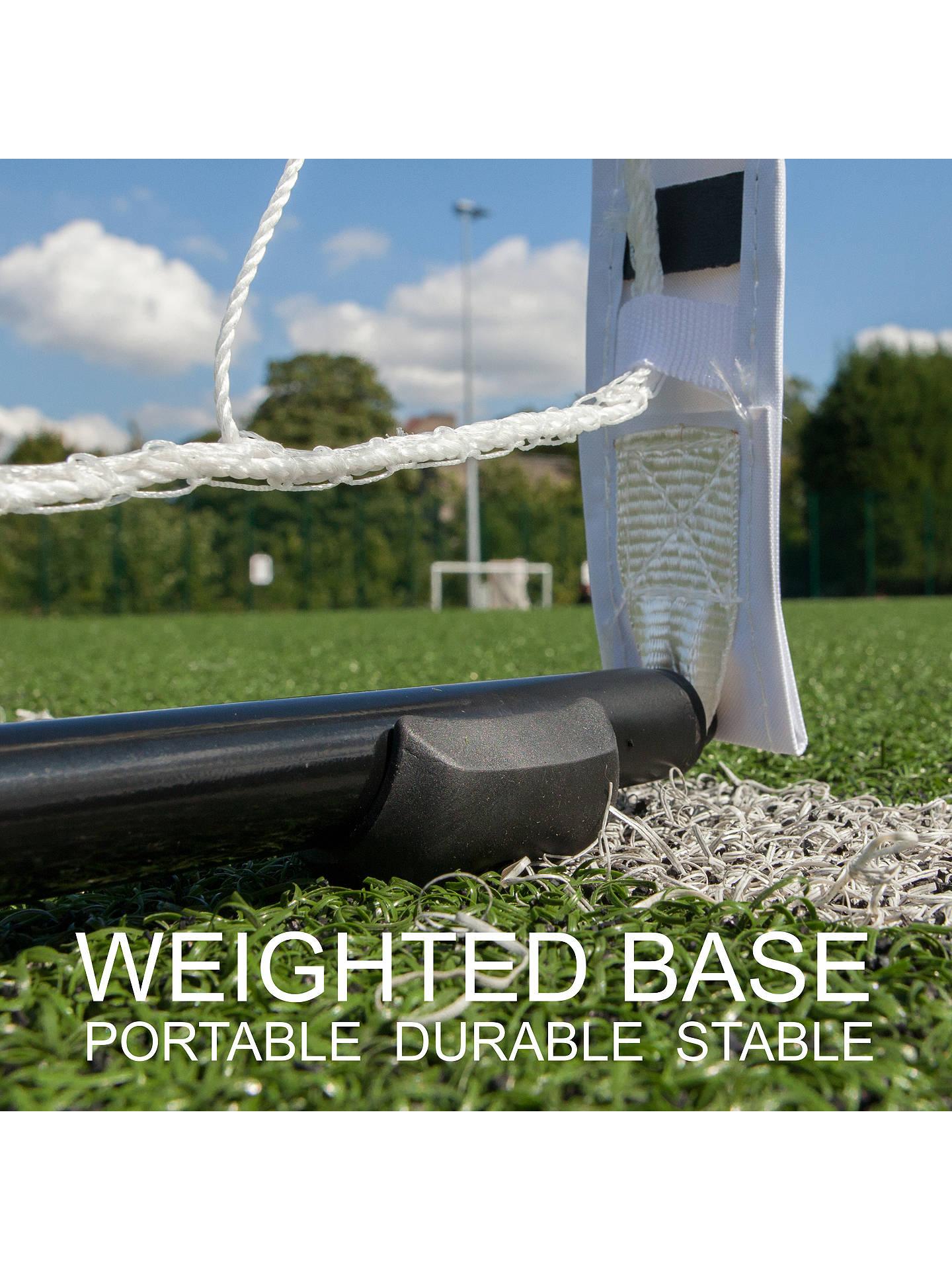 Buy Quickplay Kickster Elite 12' X 6' Football Goal Online at johnlewis.com