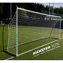 Buy Quickplay Kickster Elite 5 x 2m Football Goal Online at johnlewis.com